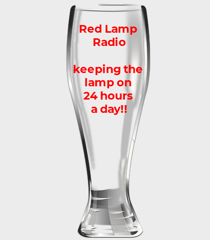 Red Lamp Radio Pint Glass (Coming Soon)