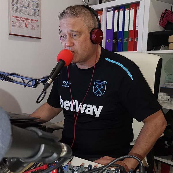 Jeff Bancroft - Red Lamp Radio presenter